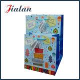 Bolsa de papel impresa insignia de encargo barata del precio del diseño del feliz cumpleaños