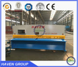 Macchina di taglio idraulica del piatto d'acciaio della ghigliottina QC11Y-20X2500, tagliatrice del piatto d'acciaio