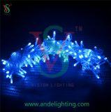Luz de Natal da flor da corda do diodo emissor de luz, luz da flor da luz dos lótus do diodo emissor de luz