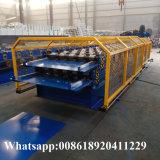 PPGI PPGL techo de acero de doble capa de baldosas esmaltadas enrolladora