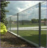 Cerco industrial curvado 3D do local da cerca da cerca do cerco de segurança do metal