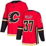 Barato 2018 Nova Marca Ad Mens Sade Kids Calgary chamas 77 Mark Jankowski 37 Rod Pelley 60 Brett Pollock Mateus Vermelho Phillips camisolas de hóquei personalizada