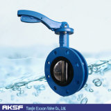 손잡이 또는 Worm Gear Pressure Seal C95800 Disc Flanged Butterfly Valve