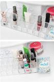 명확한 플라스틱 아크릴 24 립스틱 홀더 진열대 장식용 조직자 메이크업 케이스