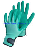 Joli gant de jardin, gant de latex