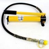 AG 7842b는 차 수선 Withpump를 위한 에어 컨디셔너 관 유압 호스 주름을 잡는 공구를 고친다