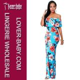 Europe Style Fashion Long Women Dress (L51307)