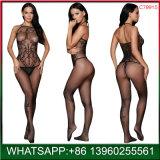 Nouvelle mode prix bon marché de sous-vêtements sexy résille noire