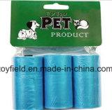 Sacchetto impermeabile di Poop del cane del sacchetto residuo dell'animale domestico