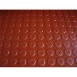 6 mm het Dikke Rode Waterdichte Afdekken SBR van de Nagel van het Muntstuk Duurzame Antislip Rubber