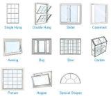 ケースメントサッシガラス窓をスライドさせる良質のアルミ/アルミnull