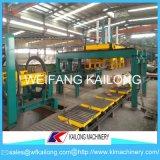 Arena verde de la máquina de moldeo automático
