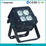 Luz de aluminio de la IGUALDAD del color LED del patio de DMX 4*15W RGBW LED