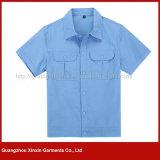제조 남자 (W127)를 위한 짧은 소매 면 일 착용 제복
