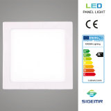 6W 12W 18W 24W super dünnes vertieftes quadratisches LED Panel