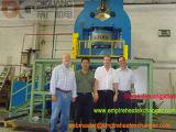 prensa hidráulica 2000t para el cambiador de calor de la placa