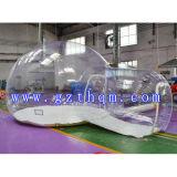 Transparentes aufblasbares Zelt, im Freien aufblasbares Zelt, Familien-Zelt