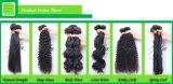 Omberの黒くおよび赤い100%年のバージンの人間のRemyの卸し売り毛