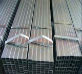 Tubo hueco cuadrado galvanizado de la sección/tubo cuadrado de acero 50X50m m