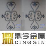 階段装飾のための錬鉄スクロール