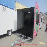 タハは販売のための食糧トレーラーを作った