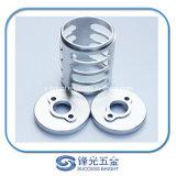 Aluminio de alta precisión máquina textil estable, piezas de mecanizado CNC AL6061 W-014