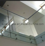 3-19mm plana/Dobrados Limpar o vidro temperado com a ISO, CCC, Csi Certified