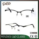 Halb-Randlose MetallEyewear Brille-optischer Rahmen