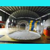 Tenda trasparente gonfiabile per accamparsi