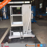 6m 200кг хорошие продажи алюминиевые воздушные тяговая Man подъемник с маркировкой CE