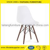 Cadeira de mesa elegante da cadeira do lazer do pé de madeira da alta qualidade