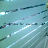 Vetro di vetro di Sandblasterd acquaforte acida di vetro glassato per l'ufficio
