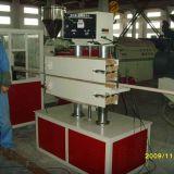 Machine en plastique professionnelle d'extrusion de profil pour des profils de plastique de PVC ou en bois