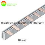 C45 tipo barra 1p/2p/3p/4p do cobre