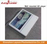 TFT LCD passager d'affichage 18,5 pouces écran LCD de l'élévateur de la publicité réseau WiFi du lecteur multimédia HD PLEIN LED de couleur Digital Signage Player Lecteur vidéo multimédia