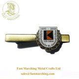 カスタム良質のネクタイのMonogrammedタイの金属メンズカラークリップ