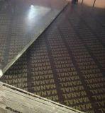 la película de 18m m Brown hizo frente a la madera contrachapada para el encofrado de madera de la construcción