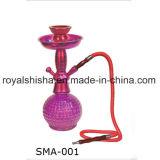 Nuovo narghilé operato colorato Shisha della bottiglia di vetro del piccolo narghilé