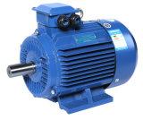 Reductor de velocidad del eje helicoidal de engranaje helicoidal de montaje en paralelo en ángulo recto de desplazamiento del eje del motor eléctrico de biselado (YE3-355M-4)
