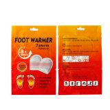 2018 Produits de soins des pieds jetables de tendances de la chaleur Réchauffement Patch