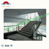 /Wood-Treppen-Glasgeländer des chinesischen modernen des Treppen-Balkon-ausgeglichenes Glas-Handlaufs/Edelstahls