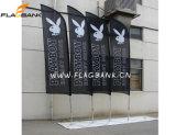 Drapeaux de plumes en aluminium Bannières de drapeau