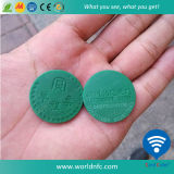ABS RFID Metro Subway Token /RFID Coin Tag per Metro Access Control System