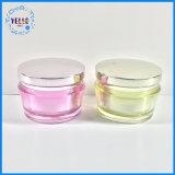 Косметический Jar оптовой 50g косметической упаковки акриловый крем кувшин блендера