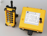 기중기 윈치 엘리베이터 스위치 수신기 전송기를 위해 F23-a++ 무선 원격 제어