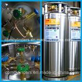 Válvula cromada Qf-6A do cilindro de gás do oxigênio