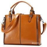 Modo Big Leather Handbags per Ladies