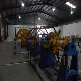 Colocação empacotada aérea do cabo de fio - acima da máquina