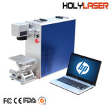 Faser-Laser-Markierungs-Maschinen des Schmucksache-Drucker-Metall20 W bewegliche