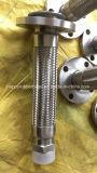 Ed allentata tubo flessibile del metallo della flessione degli ss saldato flangia fissa